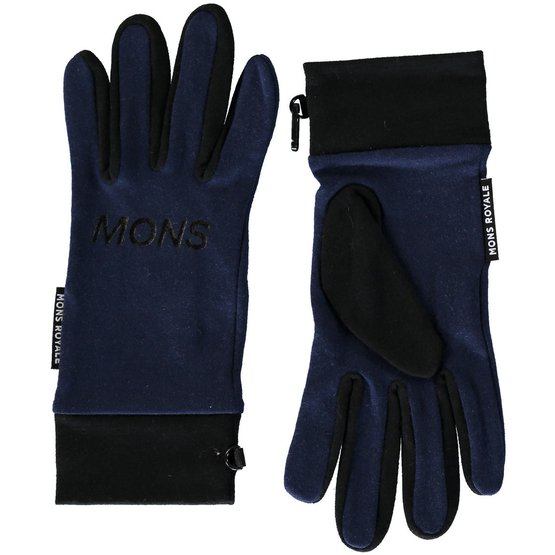 merino rukavice ELEVATION GLOVES navy   black 6063c3b42e
