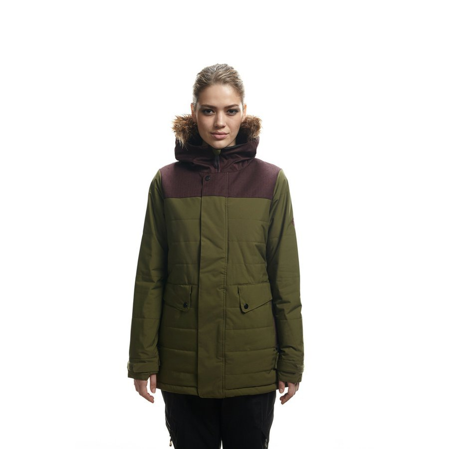 bunda AUTHENTIC RUNWAY INSULATED JACKET olive clrblk  3eff70a966