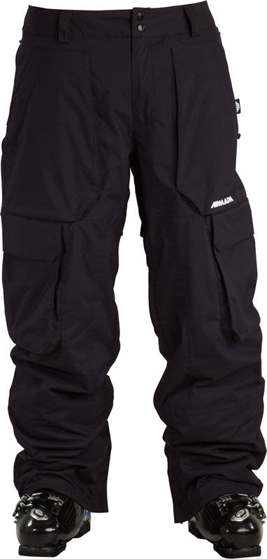ARMADA kalhoty snow LOCAL INSULATED PANT black