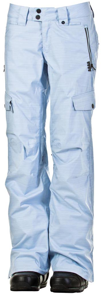 kalhoty snow FEVER lt blue recycled