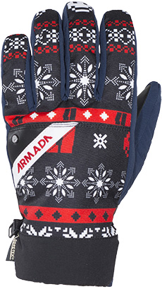 rukavice DECKER GORE-TEX GLOVE fair isle  64d46b7d5d