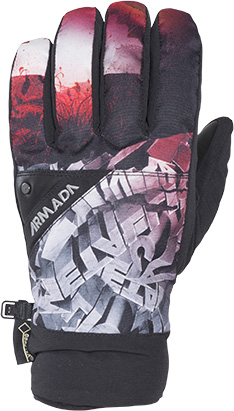 rukavice DECKER GORE-TEX GLOVE metallica  39898546af