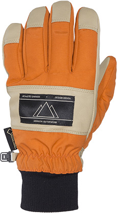 rukavice SHELTER GORE-TEX GLOVE orange  6f28618bb1