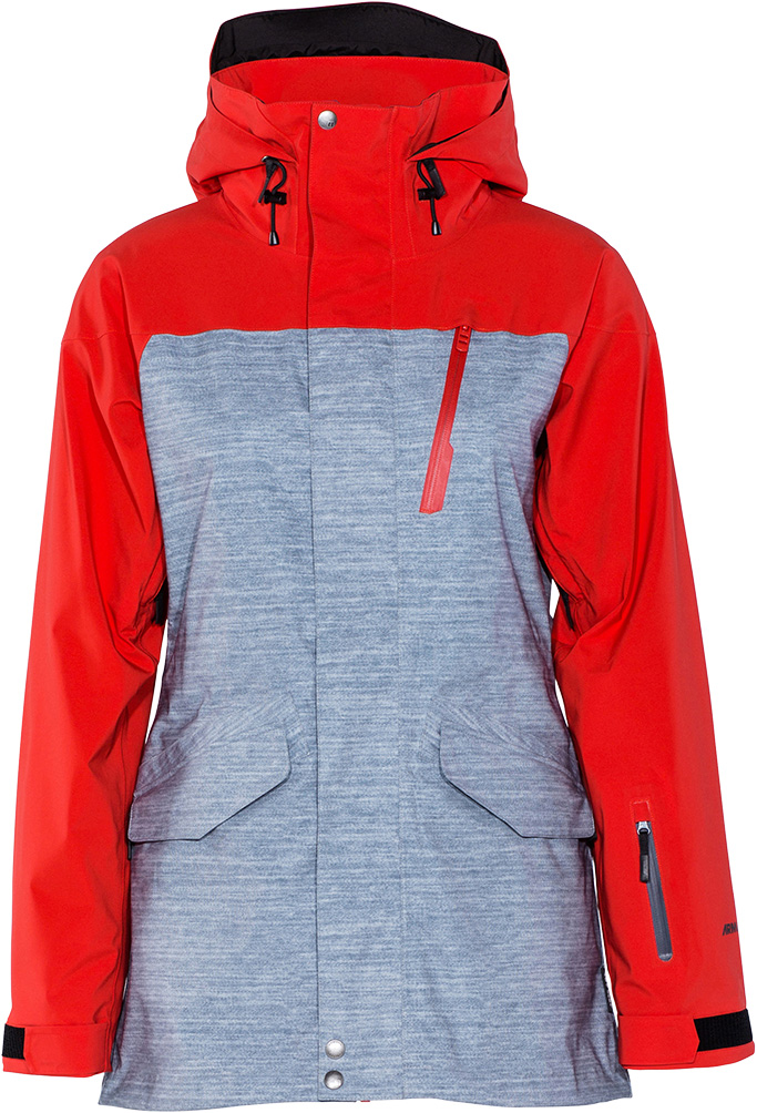 bunda snow SMOKED GORE-TEX heather