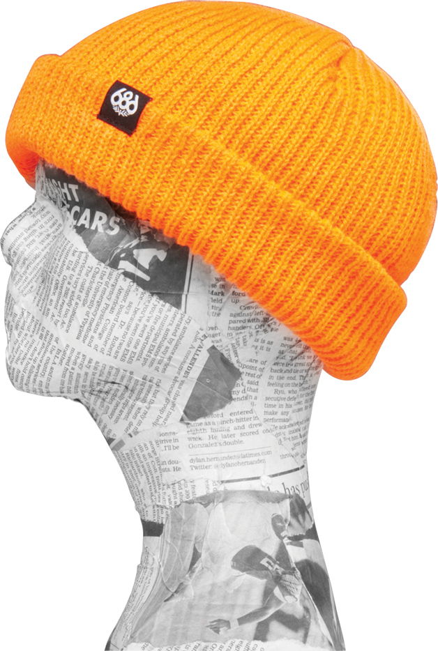 kulich ROLL-UP BEANIE safety orange