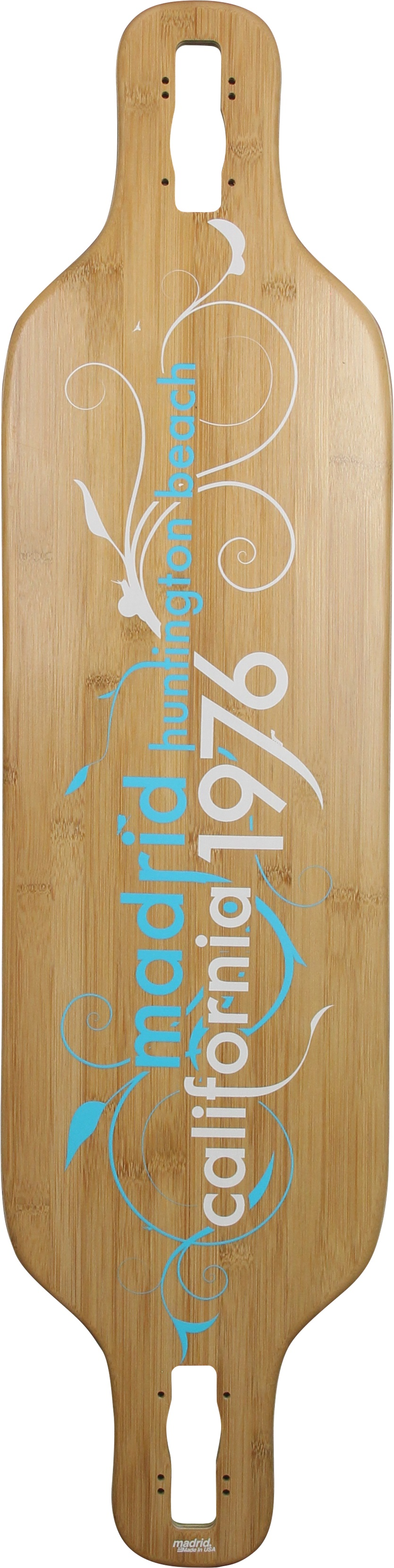 MADRID longboard deska DREAM BAMBOO DROP-THRU 39 VINES