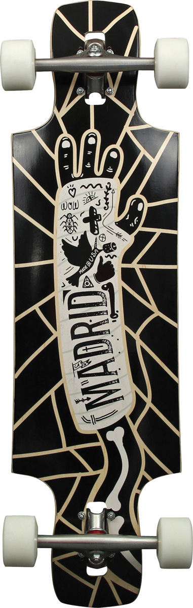 MADRID longboard RIOT 34.25 DROP-THRU MAXED CAST