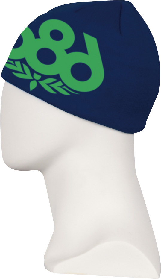 686 kulich WREATH FLEECE BEANIE indigo