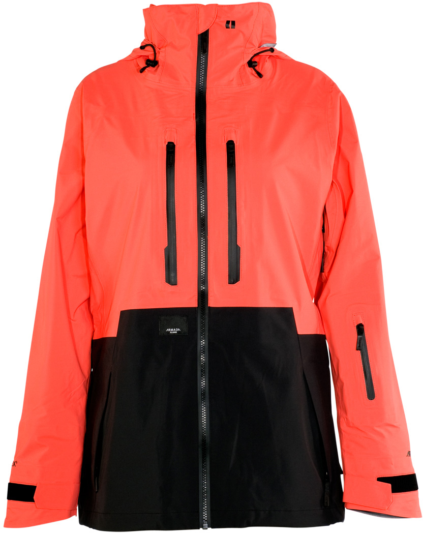 bunda RESOLUTION GORE-TEX 3L JACKET coral