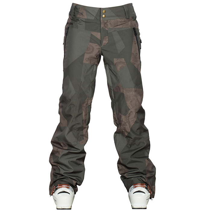 kalhoty snow SYNTH PANT geofloral